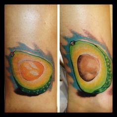 Avocado halves by:Will Arney