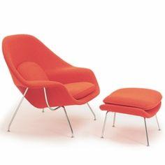Saarinen Womb Chair + Ottoman