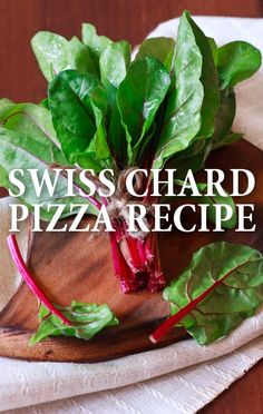 Chef Mario Batali made a Swiss Chard Ricotta Pizza Recipe and a versatile homemade pizza dough for The Chew's Extra Value Friday: Pizza, Pizza show. http://www.recapo.com/the-chew/the-chew-recipes/chew-mario-batali-swiss-chard-ricotta-pizza-recipe-pizza-dough/