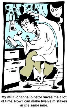 Laboratory Humor.