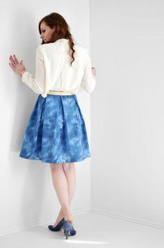 Kate Spade Inspired Skirt tutorial