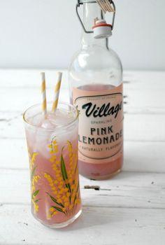 Sparkling Pink Lemonade - BoulderLocavore.com