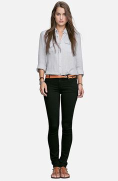 Citizens of Humanity Leggings & James Perse Shirt | Nordstrom