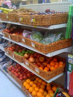Look at all the beautiful fruit in this checkout aisle! This store was Change the Future WV's first healthy checkout partner. They've since added 52 more stores and inspired advocates around the country. (Walmart, South Parkersburg, WV, 10/11)