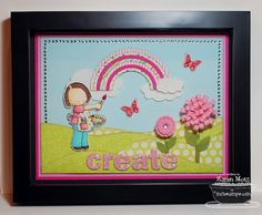 stamp frame, card idea, artworks, canva craft, craft idea