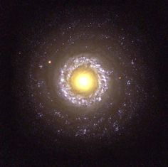 Sunny Side Up - The strange Seyfert Galaxy (NGC 7742) resembles a fried egg!