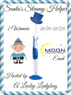 Santas Steamy Helper #Giveaway ~ 2 Winners #win a Steam Mop ~ Ends 11/25 - Davids DIY