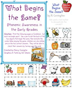 It's so fun for us to see so many different clip art images in one place! N. Covington has created an adorable game that makes it easy for kids to practice beginning sounds.  DJ's Back to School Teacher Contest 2014