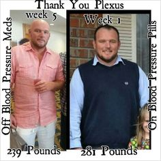 Plexus slim helped him come off of his Blood pressure meds!!! It can help you to! Check it out www.LGrove.myplexusproducts.com