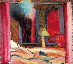 Howard Hodgkin - Interior with Figures