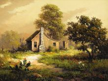 Texas:Early Texas Art - Impressionists, DALHART WINDBERG (b. 1933). Untitled. Oil on canvas.