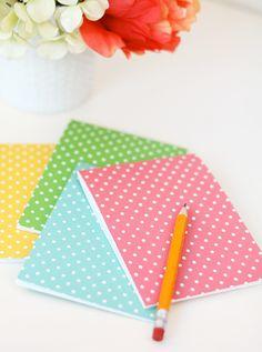 Folded Notecard Notebooks