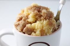 coffee cake in a cup, yes please!