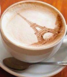 #Latte art :*¨¨*:Coffee♥Art:*¨¨*: #coffee #Paris