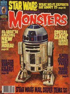 138 r2d2, comic books, starwar book, 1977, star wars, filmland 138, monsters, disney, famous monster