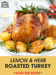 ... Lemon Fennel Rosemary Thyme Roast Turkey Recipe that is perfect to try