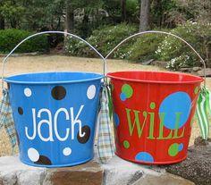 Cute easter basket idea basket idea, basket easter, easter basket
