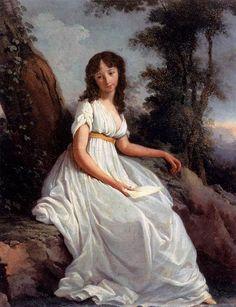 1797 fabulous chemise dress letter 1797, girl, pesaro venic, blog student, dresses, art, parent, teodoro matteini, letters