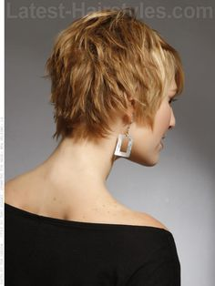 pixie haircut back view | 20 Really Cute Short Haircuts You Have To See | Latest-Hairstyles.com