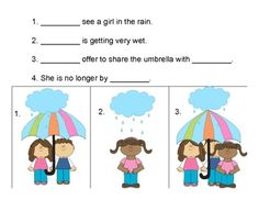 Pronouns!  For Speech and Language Therapy
