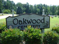 Oakwood Cemetery   Siler City  Chatham County  North Carolina, USA...Frances Bavier buried here.