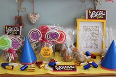 Willy Wonka Birthday Party! - The Imagination Tree