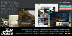 FullScene - Portfolio / Photography WP Theme