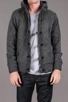 Charcoal Gray Zip Up Jacket