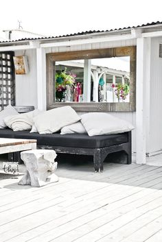 mirror, beaches, paulinaarcklin, paulina arcklin, outdoor space, beachclub, balconi, beach club, garden