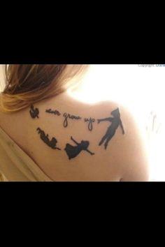 #Tattoo #PeterPan #NeverGrowUp