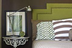 green brown bedroom inspiration