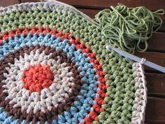 Free Crocheted Rug Patterns | Crochet Rug Patterns | Free Vintage