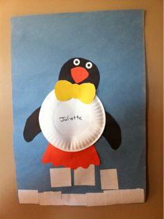 Penguin Shapes Craft