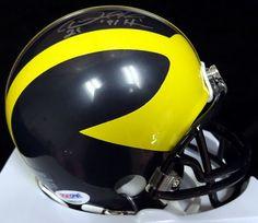 AAA Sports Memorabilia LLC - Desmond Howard Michigan Wolverines NCAA Hand Signed Mini Helmet with 91 Heisman Inscription, $187.50 (http://www.aaasportsmemorabilia.com/collegiate/desmond-howard-michigan-wolverines-ncaa-hand-signed-mini-helmet-with-91-heisman-inscription/)