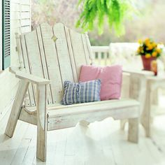 nantucket sette, wooden benches, chairs, architecture interiors, garden benches, outdoor, furniture, settees, front porches