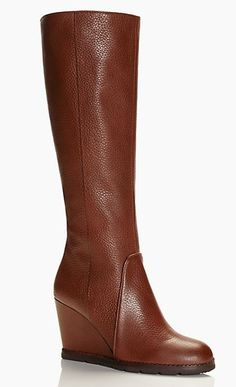 Gorgeous wedge boots by kate spade new york #wishlist