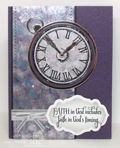 Stamps - Our Daily Bread Designs God's Timing, ODBD Custom Circle Ornaments Dies, ODBD Custom Matting Circles Dies, ODBD Custom Antique Labels and Border Dies