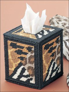 Plastic Canvas - Tissue Topper Patterns - Boutique-Style Patterns - African Animals