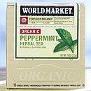 World Market® Organic Peppermint Herbal Tea | World Market