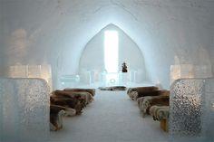 "The ""Snow Castle"" in Finland"