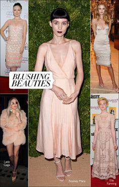 Powder pink is having a moment. #harpersbazaar #fashion #trends #pink #rooneymara