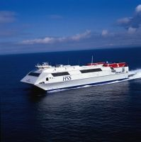 The fast HSS ferry across the Irish Sea