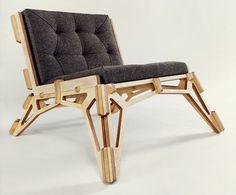 Spaceframe Furniture - Chair by Gustav Düsing