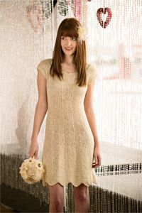 Learning how to knit a dress is surprisingly easy with this knitting pattern.