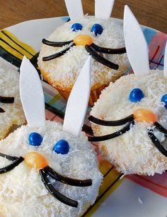 #Easter bunny cupcakes