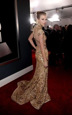 Taylor Swift @ the 54th Grammy Awards