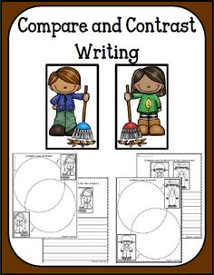 """FREE Fall Compare and Contrast Writing.....Follow all RED DIAMOND BOARDS for the Best FREE """"too-neat-not-to-keep"""" teaching tools & other fun stuff :)"""