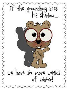 Groundhog Day Posters- FREEBIE!