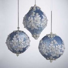 how to make victorian christmas ornaments - Google Search