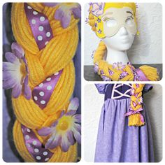 DISNEY LOVE: Rapunzel Wig - seven thirty three